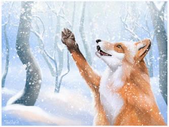 Arts11. Winter Fox by TheSofN