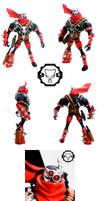 Spawn issue 55 custom set-a by SomaKun