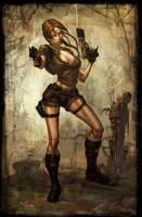 Underworld Lara, Paul Sullivan by Ostercy