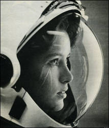 Girl Cosmonaut by Ostercy