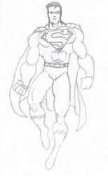 Superman Sketch by Gotetsu005