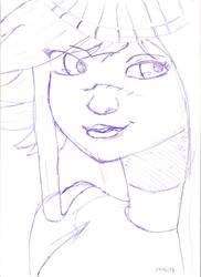 Old sketch by UnrealCronos