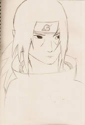 Sketch of Itachi Uchiwa by UnrealCronos