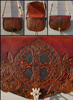 Vargkors Shoulder Bag by Wodenswolf