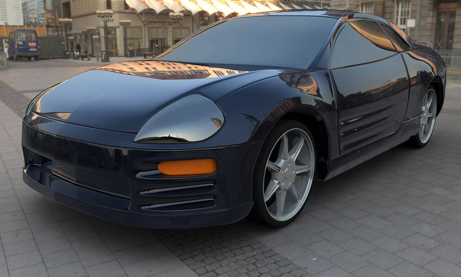 Mitsubishi Eclipse LARGE by truckless