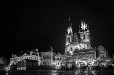 Old Town Square - Prague by brzda
