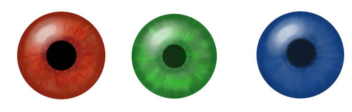 Three Eyes by Draikeena