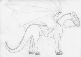 Tame Reillo Dragon by Draikeena
