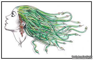 Medusa by Nelhemyah