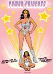 Power Princess comic cover by okayokayokok