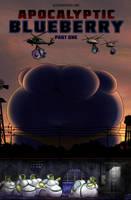 Apocalyptic Blueberry comic cover by okayokayokok