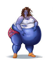 Pregnant Blueberry Girl part 2 of 4 by okayokayokok