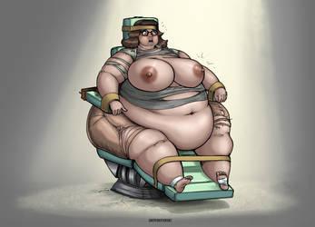 Weight Gain feeding chair by okayokayokok