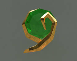Zelda OoT Spiritual Stone No1 by iAkumu