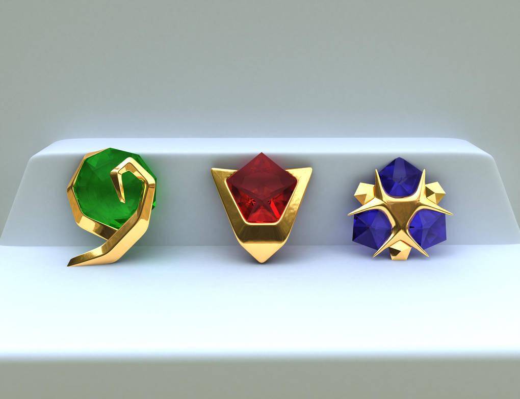 Zelda - Spiritual Stones 3D by iAkumu