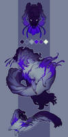 Serenial Auction - Gilded Werewolf (Open!) by Oxxidian