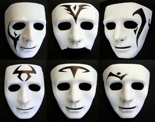 My Enchantment Masks by tonelo