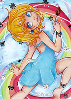 ACEO nr. 36 Painting is Magical by Primarella