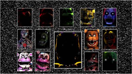[SFM] Ultimate Custom Night - New Characters! by GreenRou