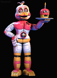 Funtime Chica (FNAF6/FFPS) by GreenRou