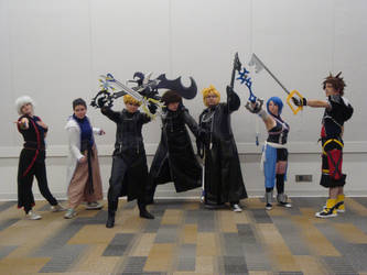 The Keyblade Masters! by Sailor-Touko667