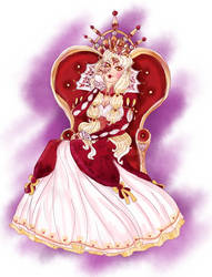 .: Queen Cressida Heartfell :. by flaredrake20