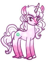 Starshine Unicorn Form by flaredrake20