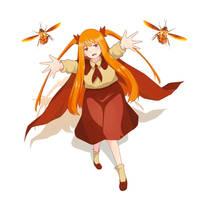Kecoa-chan by Dinnata