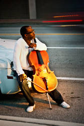 The Cellist by eviolinist