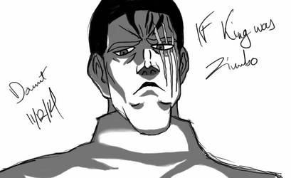 King from OPM by bishou-no-soujiro