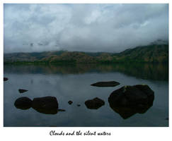 Clouds and the silent waters.. by Waterlilynl
