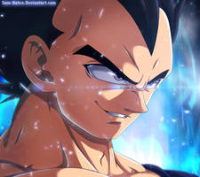 Vegeta - Get ready ! by Sam-Baten