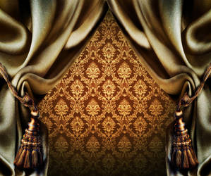 Curtain Background Texture 02 by llexandro