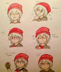 Hirumi Character Sheet (Part 2/2) by SmashArtist728