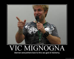 Vic Mignogna poster by UzumakiSonic619