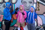 Vocaloid Cosplay: Matryoshka Group 5 by bloodyblue