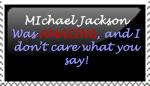 Michael Jackson Stamp by jessicashadow
