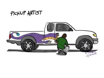 Pickup artist by GKoch