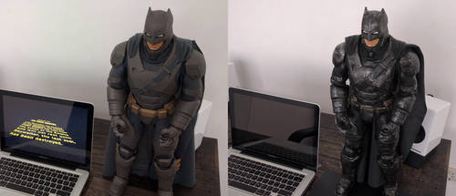 Jakks Pacific Batman V Superman Armored Batman by sunnysighup