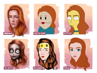 Style Challenge + speed paint by LillyTalent