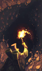 Aracha Ambush by Art-Zealot