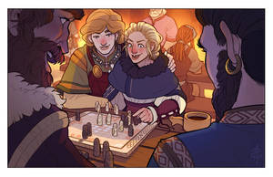 The King's Table by Art-Zealot