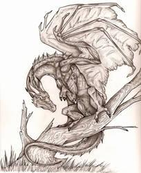 Sneaky Dragon by CreativeKender