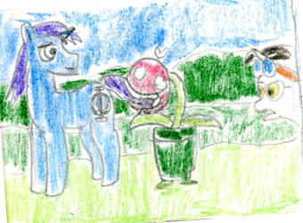Piranha Plant Noms by MLP-HeadStrong