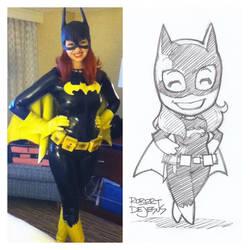 Batgirl Sketch by Banzchan