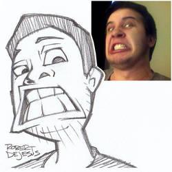Peepstreaker Sketch by Banzchan