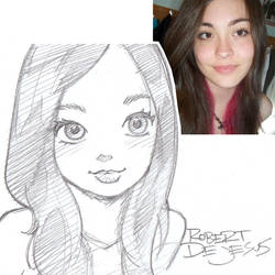 Lady  McGaha Sketch by Banzchan