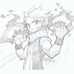 Natsu / Fairy Tail by Banzchan