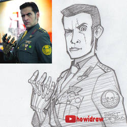Sketch Mark Meer by Banzchan