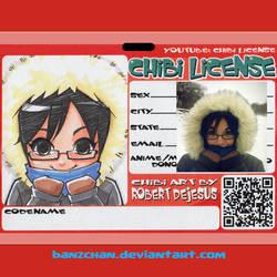 Fibrglas Chibi License by Banzchan